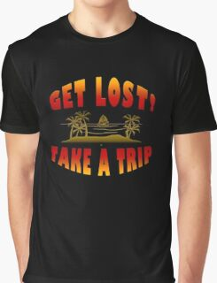 Get Lost Take A Trip Graphic T-Shirt