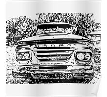 Dodge Truck Poster