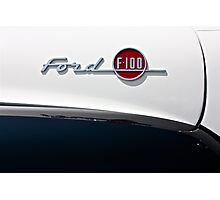 Ford F-100 Photographic Print