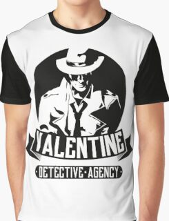 Valentine Detective Agency Graphic T-Shirt
