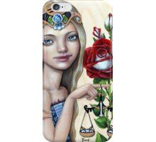 Libra Girl iPhone Case/Skin