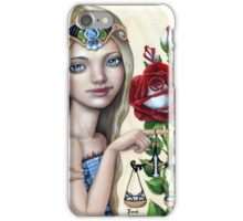Libra Girl iPhone Case/Skin