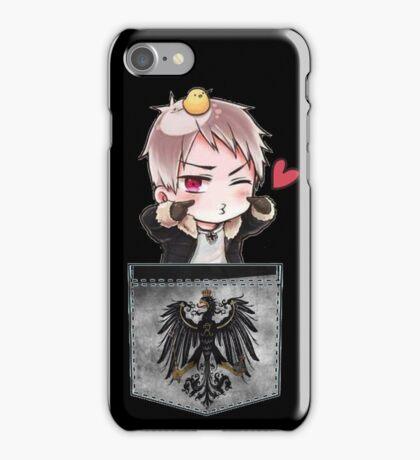 Prussia Pocket Chibi iPhone Case/Skin
