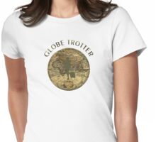 The Globe Trotter Womens Fitted T-Shirt