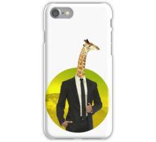 Mr Giraffe iPhone Case/Skin