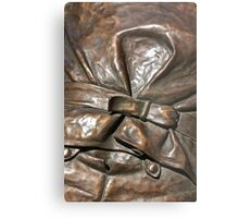 Bronze Buckle Metal Print
