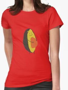 Happy Avocado Womens Fitted T-Shirt