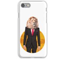 Mr Lion iPhone Case/Skin