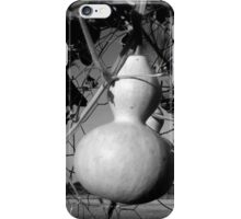 GOURDS IN BLACK AND WHITE iPhone Case/Skin