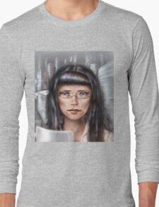 Office girl Long Sleeve T-Shirt