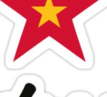 A star for Vietnam Sticker