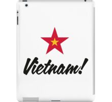 A star for Vietnam iPad Case/Skin