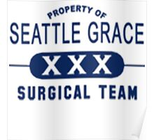 Property of Seattle Grace  Poster