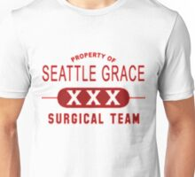 Property of Seattle Grace in Red  Unisex T-Shirt