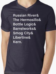 California Beer Shirt Mens V-Neck T-Shirt