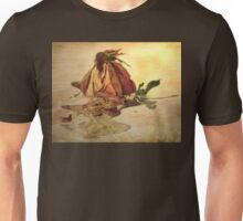The Last Summer Rose - Image and Poem  Unisex T-Shirt