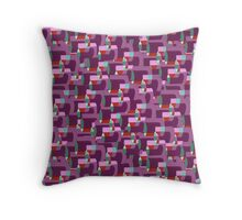 Crazy Cans Throw Pillow