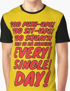 OPM Training Scedule (red) Graphic T-Shirt