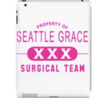 Property of Seattle Grace in Pink  iPad Case/Skin