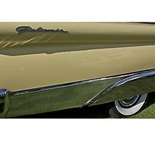 1957 Ford Galaxie Fender Photographic Print