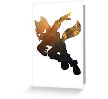 Fox Galaxy Greeting Card