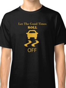 traction control off Classic T-Shirt