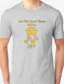 traction control off Unisex T-Shirt