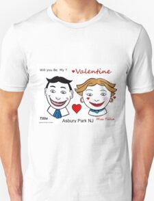 Valentines Day Tillies Unisex T-Shirt