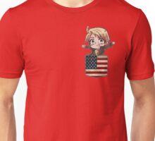 America Chibi Pocket Unisex T-Shirt