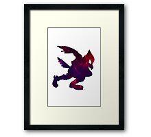Falco Galaxy Framed Print
