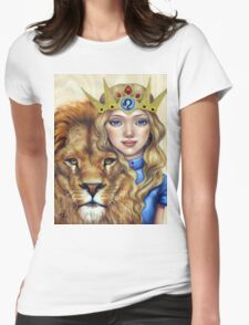 Leo Girl Womens Fitted T-Shirt