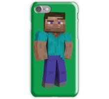 Minecraft Steve iPhone Case/Skin