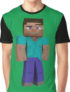 Minecraft Steve Graphic T-Shirt