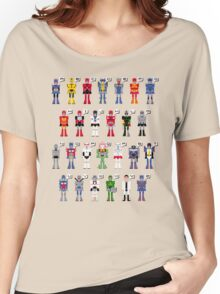 Transformers Alphabet Women's Relaxed Fit T-Shirt