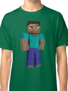 Minecraft Steve Classic T-Shirt