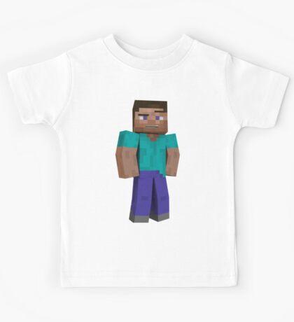 Minecraft Steve Kids Tee