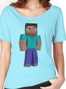 Minecraft Steve Women's Relaxed Fit T-Shirt
