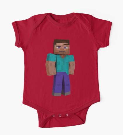Minecraft Steve One Piece - Short Sleeve
