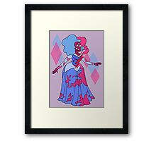 Cotton Candy Princess Framed Print