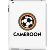 Football coat of arms of Cameroon iPad Case/Skin