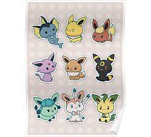 [Pokémon] Chibi Eeveelutions  Poster