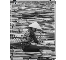 Vietnamese Boat Lady in Tam Coc iPad Case/Skin