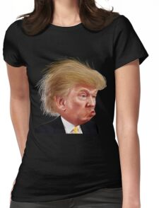 Donald Trump Funny Meme Womens Fitted T-Shirt