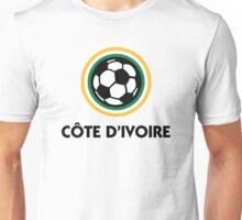 Football coat of arms of Côte d Ivoire Unisex T-Shirt