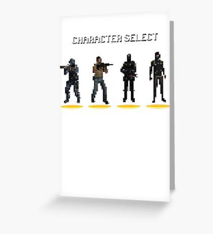 CS:GO - Character Select Greeting Card