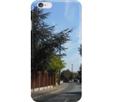 Driving down a Country Lane iPhone Case/Skin