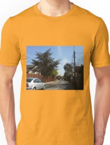 Driving down a Country Lane Unisex T-Shirt