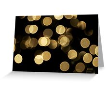 Sparkle Star Greeting Card