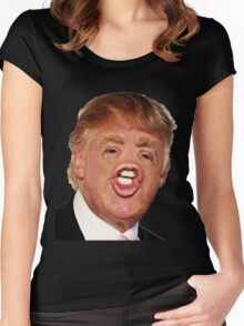 Funny Donald Trump Meme Women's Fitted Scoop T-Shirt