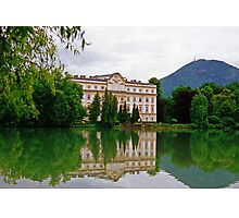 Schloss Leopoldskron, Salzburg, Austria Photographic Print